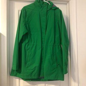 Green Charles River Rain Jacket